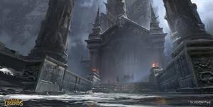 League of Legends - Freljord Tower by JamesPaick