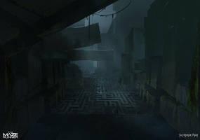 Concept Design for - The Maze Runner by JamesPaick