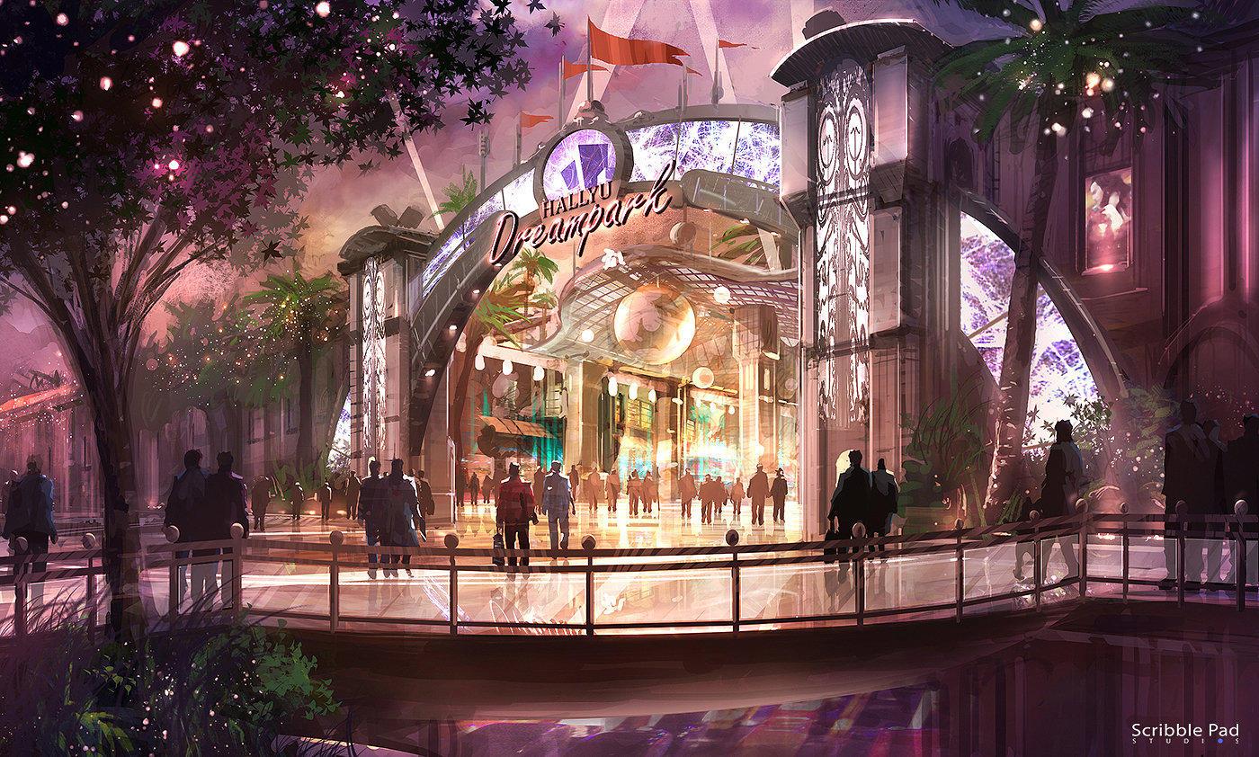 Theme Park Illustration by JamesPaick