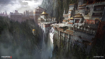 Uncharted 2 - Concept Design by JamesPaick