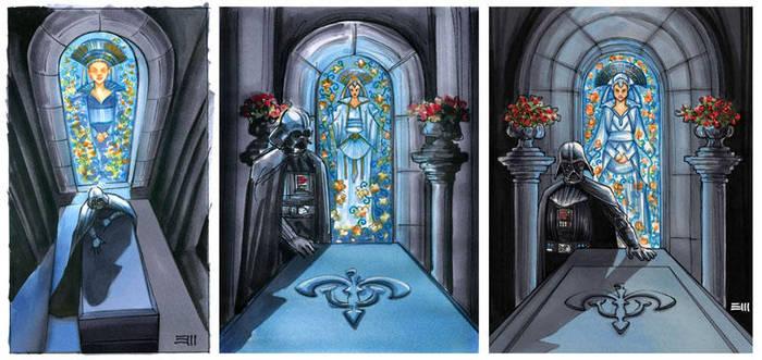 Prelims for GALAXY 7 Base Card Artwork by Erik-Maell