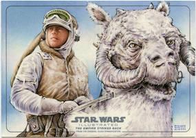 Patrolling Hoth by Erik-Maell