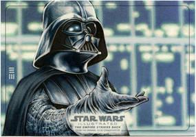 Darth Vader EMPIRE STRIKES BACK Panoramic AP by Erik-Maell