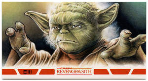 Yoda - Revenge of the Sith Artist Proof by Erik-Maell