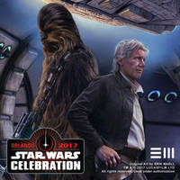 Han and Chewie SWCO2017 Detail by Erik-Maell