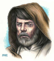 Luke Skywalker Portrait Study by Erik-Maell