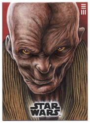 Snoke Artist Proof by Erik-Maell