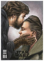 Luke and Leia Artist Proof by Erik-Maell