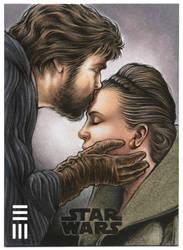 Luke and Leia Artist Proof by Erik-Maell