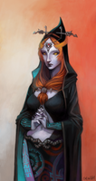 alien-like midna by vi0letswirl