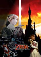 Zelda Cosplay Poster by TifaRose