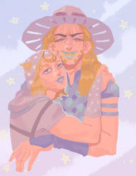 Johnny and Gyro by FallenIntoTheWell