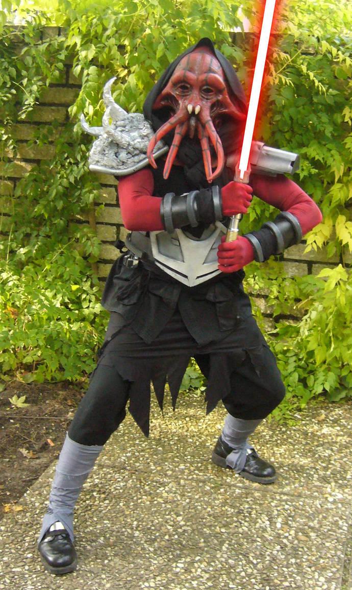 Sith Quarren Darth Azard Sith Costume Sith Cosplay By Buddycracker