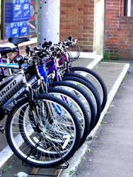 Bikes by Gingerblokey
