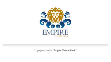 logo theme park by coollastic