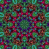 Bright Metallic Mandala 3 by janclark