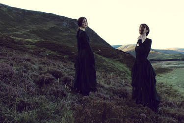 Women in the Highlands II by FleurDelacour