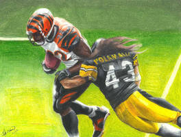 Bengals V Steelers by Kalmek182