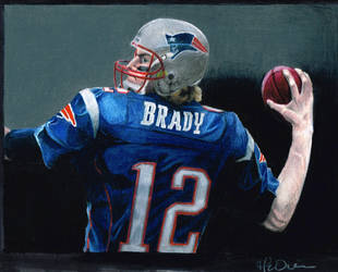 Tom Brady by Kalmek182