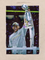 Ray Lewis Superbowl 2013 by Kalmek182