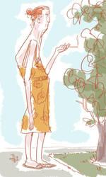 Burbank Lady by pumml