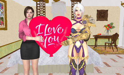 Jill and Ivy Valentine by Stylistic86