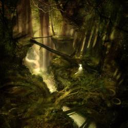 Forest Falls by JohnoftheNorth