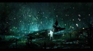 Firefly Forest by JohnoftheNorth