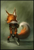 Fox With A Sword by JohnoftheNorth