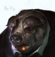 Mr. Pig by JohnoftheNorth