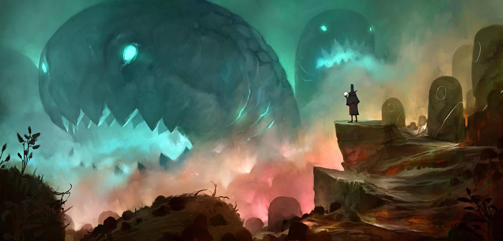 World's Edge by JohnoftheNorth