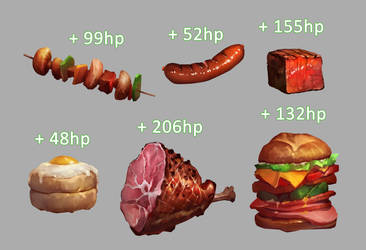 Food Health Items by JohnoftheNorth