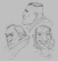 Daily Sketch 5 by JohnoftheNorth
