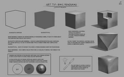 Art Tip - Basic Rendering by JohnoftheNorth
