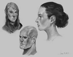 Heads Practice 9-29-2017 by JohnoftheNorth
