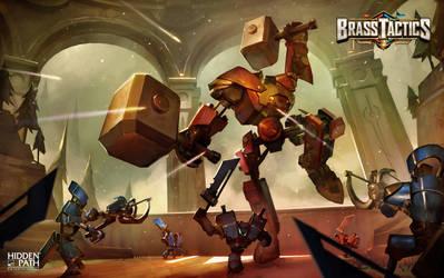Brass Tactics - Titan Attack by JohnoftheNorth
