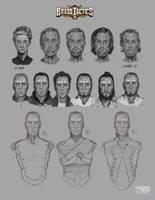 Brass Tactics Early Avatars by JohnoftheNorth