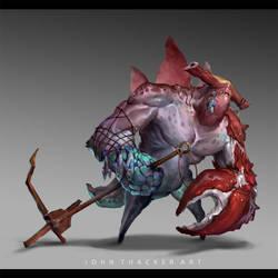 Sharkie by JohnoftheNorth