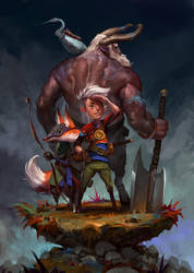 RPG Group by JohnoftheNorth