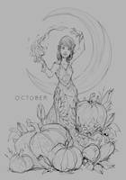 October by JohnoftheNorth
