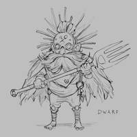 Fork Dwarf by JohnoftheNorth