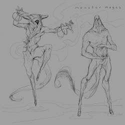 Monster Mages by JohnoftheNorth