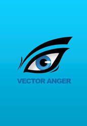 Blue Anger Vector by WraShadow