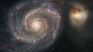 Whirlpool Galaxy by MoRoom