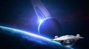 Odyssey in Orbit by MoRoom