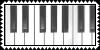 Piano Stamp by raimundo-fangirl