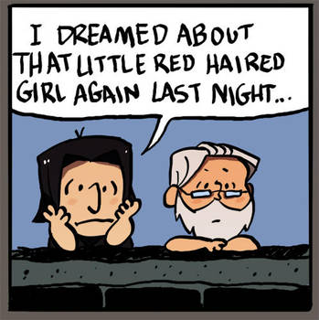 little red haired girl by ragweed