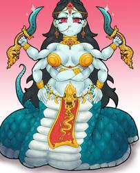 Monster Girl Challenge Day 4- Naga by BangBooDoragon