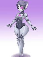 Monster Girl Challenge Day 17- Robot by BangBooDoragon
