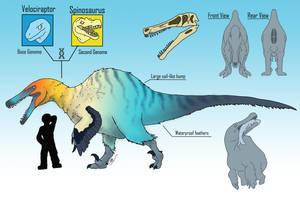 Spinoraptor by BangBooDoragon
